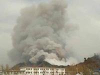 秦皇岛祖山大火系村民燎荒引起 动用500余人扑救