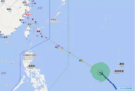 本周暴雨继续下明起北移 第1号台风尼伯特要来了