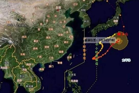 """台风""""狮子山""""可能要来哈尔滨作妖 刮风还降温"""