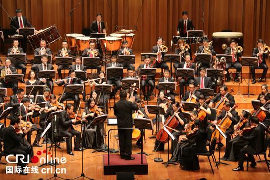 大型交响套曲《长征》音乐会12日晚在国家大剧院首演