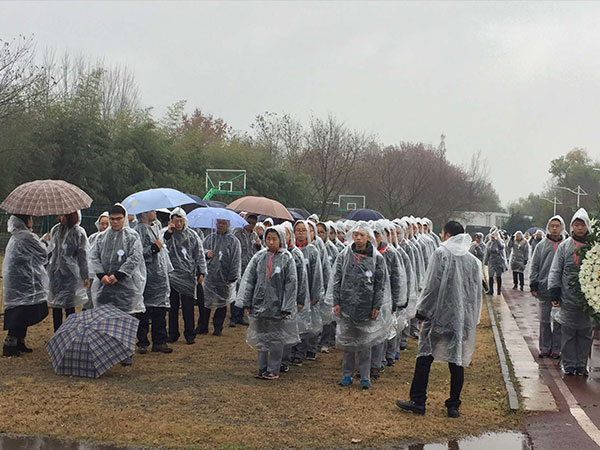 全南京默哀一分钟 纪念馆周边道路交通管制