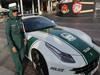 迪拜警车是法拉利