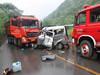 两车相撞12人死亡