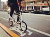 自行车道宽度过窄