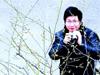 武汉市民抢拍梅花