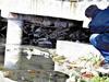 小区排污口通南湖