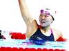 武汉伢夺仰泳金牌