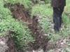 荆门塌陷坑深10米