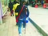 拐杖女孩折服网友