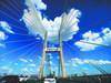 心形云飘长江二桥