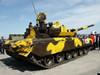 坦克被改成消防车