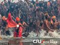 印度千万人共浴
