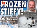 六旬老汉酒后性侵雪人 下体被冻伤送医抢救