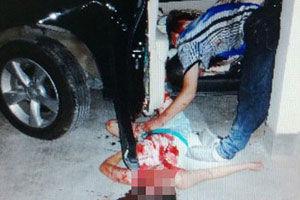女子倒车撞死丈夫