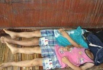 男童遭捆绑身亡