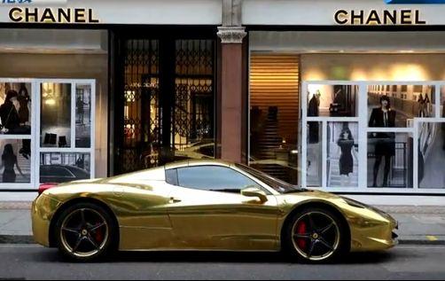 全球最贵金色豪车