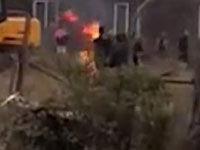 养殖户被强拆后自焚 烧伤自己和村主任