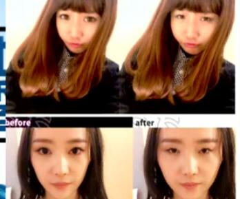 日本推出手机软件一秒消除美颜效果
