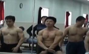清华男参健美大赛