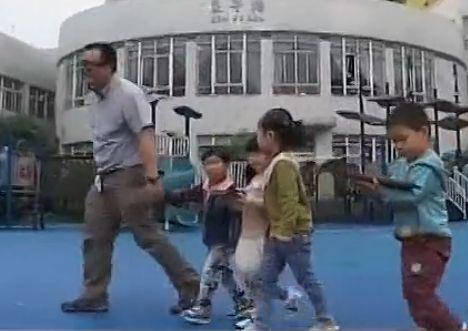 实验用iPad拐孩子