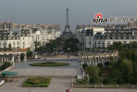 杭州巴黎成鬼城