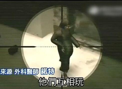 士兵用孕妇当标靶