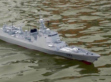 军迷手工造驱逐舰