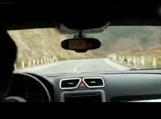 司机武汉山中漂移