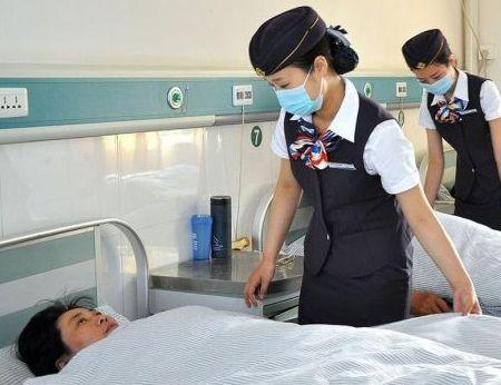 护士穿空姐装上班
