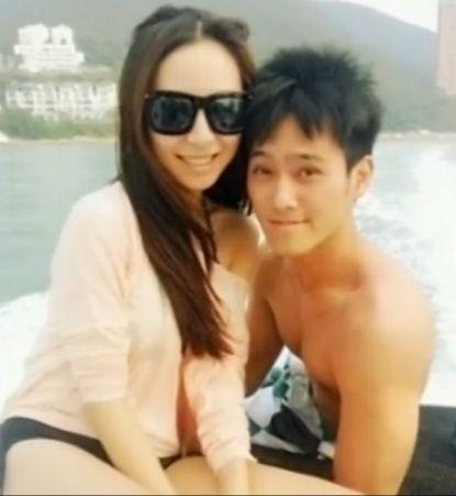 赵雅芝帅气儿子曝光 与性感美艳女友拍亲密照