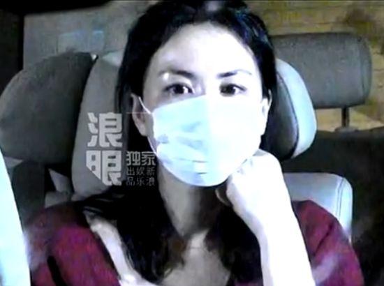 实拍王菲离婚后现身北京 面容憔悴
